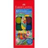 Faber-Castell vízfesték készlet ecsettel - 12 db-os