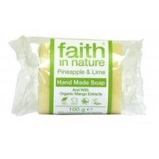 Faith in Nature Ananász-Lime szappan, 100 g tisztító- és takarítószer, higiénia
