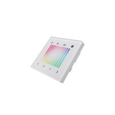 Fali RGB DMX LED vezérlő (DMX-RGBLN) - 144W - fehér világítási kellék