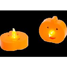 FAMILY DECOR 55247C LED-es teamécses - tök - 2 db / csomag mécses