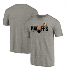 Fanatics Branded Anaheim Ducks fĂŠrfi póló grey 2018 Stanley Cup Playoffs Bound Team Favorite - S