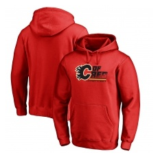 Fanatics Branded Calgary Flames fĂŠrfi kapucnis pulóver red Hometown Collection - XL