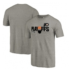 Fanatics Branded Philadelphia Flyers fĂŠrfi póló grey 2018 Stanley Cup Playoffs Bound Team Favorite - XXL