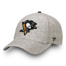Fanatics Branded Pittsburgh Penguins baseball sapka grey True Classic Fundamental