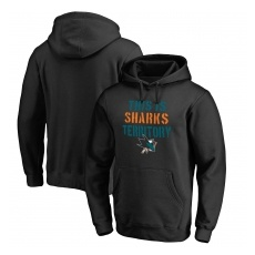 Fanatics Branded San Jose Sharks fĂŠrfi kapucnis pulóver black Hometown Collection - M