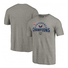 Fanatics Branded Washington Capitals fĂŠrfi póló grey 2018 Eastern Conference Champions Boarding Tri-Blend - XL