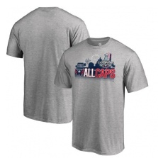 Fanatics Branded Washington Capitals fĂŠrfi póló grey 2018 Stanley Cup Champions Change on the Fly Celebration - L
