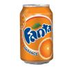 FANTA szénsavas üdítőital, dobozos, narancs ízű, 0,33 l