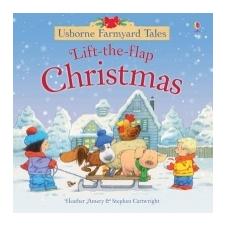 Farmyard Tales Lift the Flap Christmas – Heather Amery idegen nyelvű könyv