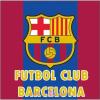 FCB, FC Barcelona FCB, FC Barcelona plüss párna, díszpárna 35*35 cm