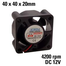 FD4020 12V Ventilátor 40x40x22 ventilátor