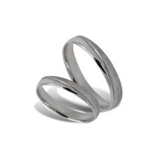 Fehér arany férfi karikagyűrű - A40420F/F/69 gyűrű