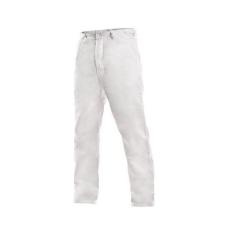 Fehér férfi nadrág, méret: 58