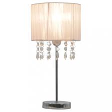 Fehér kerek asztali lámpa E27 kültéri világítás