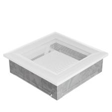 Fehér Szellőzőrács Oscar 17x17 hűtés, fűtés szerelvény