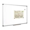 Fehértábla, mágneses, 100x200 cm, alumínium keret