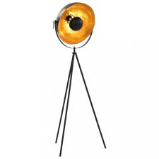 Fekete-arany állólámpa E27 41 cm kültéri világítás
