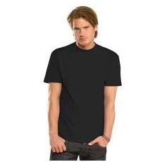 Fekete környakú póló
