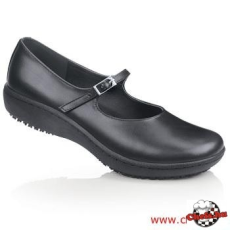 Fekete női cipő Mary Jane
