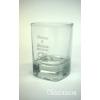 Feles pohár gravírozva