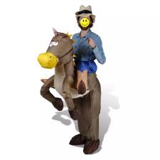 Felfújható Cowboy és Ló Jelmez jelmez