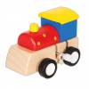 Felhúzható mozdony (piros)