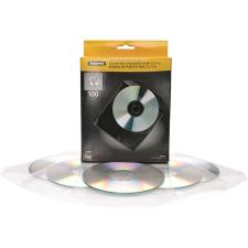 FELLOWES CD/DVD boríték, műanyag, átlátszó, FELLOWES boríték
