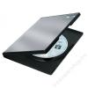 FELLOWES DVD-tok, normál, 1 lemez, PP, FELLOWES, fekete (IFW83357)