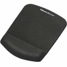 """FELLOWES Egéralátét csuklótámasszal, habtöltésű, FELLOWES """"PlushTouch™"""", fekete asztali számítógép kellék"""