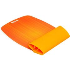 FELLOWES Egéralátét szilikonos csuklótámasszal, , narancssárga asztali számítógép kellék