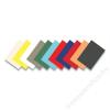 FELLOWES Hátlap, A4, 270 g, matt, FELLOWES Delta, sárga (IFW53705)