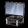FELLOWES - monitor állvány fiókkal és írattartóval; grafit