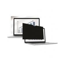 """FELLOWES Monitorszűrő, betekintésvédelemmel,332x208 mm, 15,4"""", 16:10 FELLOWES PrivaScreen™, fekete asztali számítógép kellék"""