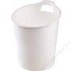 FELLOWES Papírkosár, műanyag, FELLOWES Green2Desk, fehér (IFW00094)
