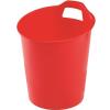 "FELLOWES Papírkosár, műanyag,  ""Green2Desk"", piros"