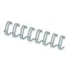 FELLOWES Spirál, fém, 3:1, 12 mm, 81-100 lap, FELLOWES, ezüst