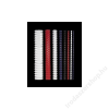 FELLOWES Spirál, műanyag, 12 mm, 56-80 lap, FELLOWES, fekete (IFW53315)