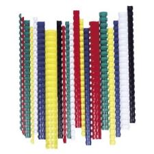FELLOWES Spirál, műanyag, 14 mm, 81-100 lap, , 100 db, fehér spirálozó gép