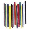 FELLOWES Spirál, műanyag, 14 mm, 81-100 lap, , 100 db, piros