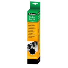 FELLOWES Spirál, műanyag, 16 mm, 101-120 lap, , 25 db, fekete spirálozó gép