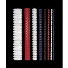 FELLOWES Spirál, műanyag, 8 mm, 21-40 lap, FELLOWES, 25 db, kék spirálozó gép