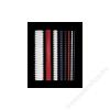FELLOWES Spirál, műanyag, 8 mm, 21-40 lap, FELLOWES, fehér (IFW53304)