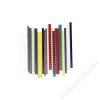 FELLOWES Spirál, műanyag, 8 mm, 21-40 lap, FELLOWES, fekete (IFW53457)