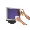 FELLOWES Tisztítókészlet, képernyőhöz, 125 ml folyadék és 20 db törlőkendő, FELLOWES