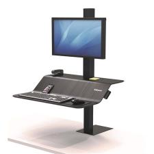 """FELLOWES Ülő/álló munkaállomás, FELLOWES, """"Lotus™ VE"""", egy monitorhoz monitor kellék"""