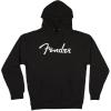 Fender Logo Hoodie Black XXL