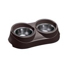 Ferplast Duo Feed Etető-itató tál, 0.4 kutyatál