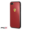 Ferrari iphone 8 fesachci8re akril piros tok