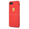 Ferrari iPhone 8 SF szilikon piros tok (FESSIHCI8RE)