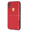 Ferrari On-Track Racing Shield iPhone XR puha gumi piros tok (FESITHCI61RE)